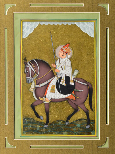 Indian, 'Nobleman on a Horse', 20th Century