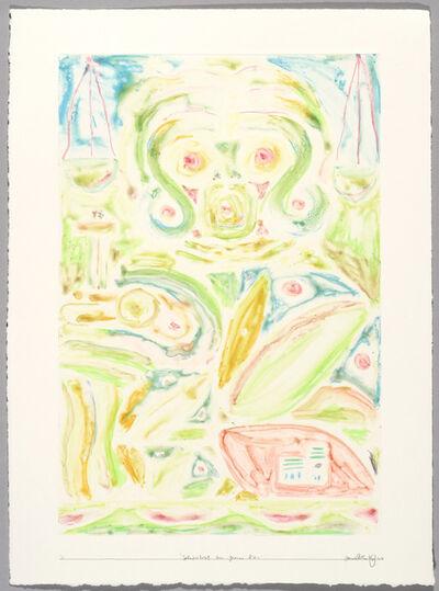 Alexander Tovborg, 'Selvportræt som Jeanne d'arc'