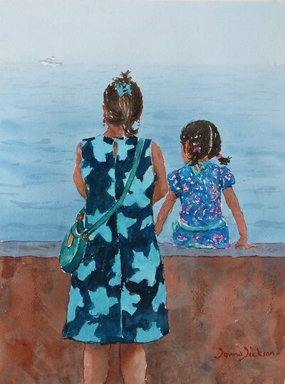 Donna Dickson, 'From the Seawall Malecon P.V.'