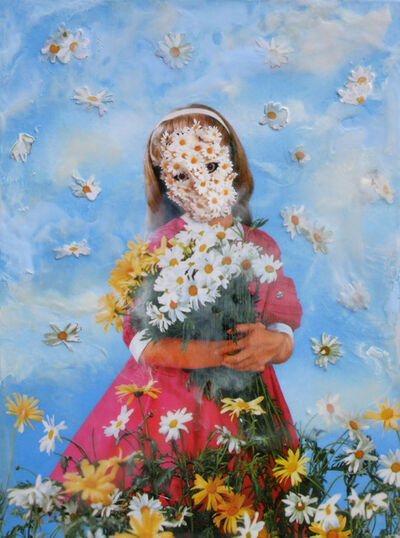 Marnie Weber, 'Gathering Daisies on a Misty Day ', 2019