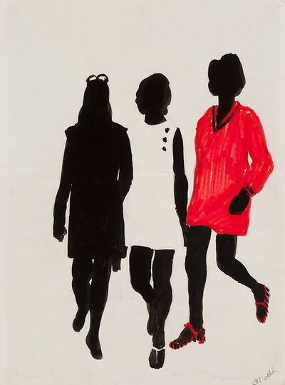 Idelle Weber, 'Pomp & Carnaby St.', 1966