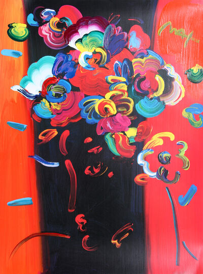 Peter Max, 'Roseville Profile', 1999