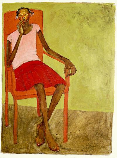 Olivia Mae Pendergast, 'Red Skirt', 2019