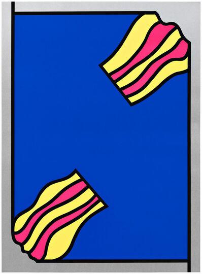 Nicholas Krushenick, 'Fire/Flash/Five/Fade (2)', 1971