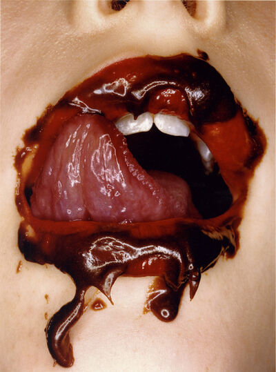 Irving Penn, 'Chocolate Mouth, New York', 2000