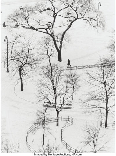 André Kertész, 'Washington Square, Day', 1954