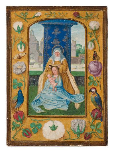 Simon Bening, 'Virgin and Child with St. Anne (Anna Selbdritt)', 1510-1520