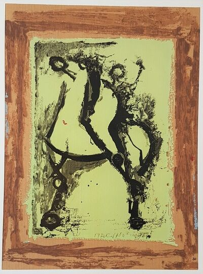 """Marino Marini, 'Rider - From """"A Suite of Sixty-three Re-creations of Drawings and Sketches in Many Mediums"""" ', 1968"""