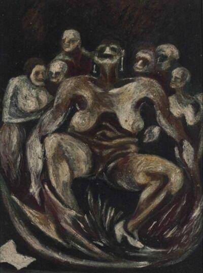 Jackson Pollock, 'Woman'