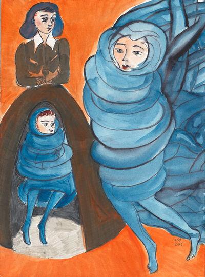 Rosa Loy, 'Unterhalt', 2019