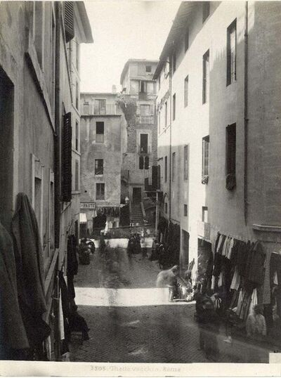 Unknown, 'Ancient Ghetto - Disappeared Rome', Early 20th Cent