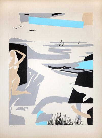 George Vranesh, 'Enjoying the Beach', 1988