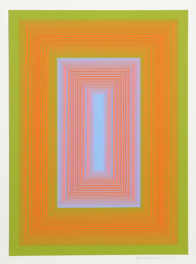 Richard Anuszkiewicz, 'Sequential IV from the Sequential Portfolio', 1972