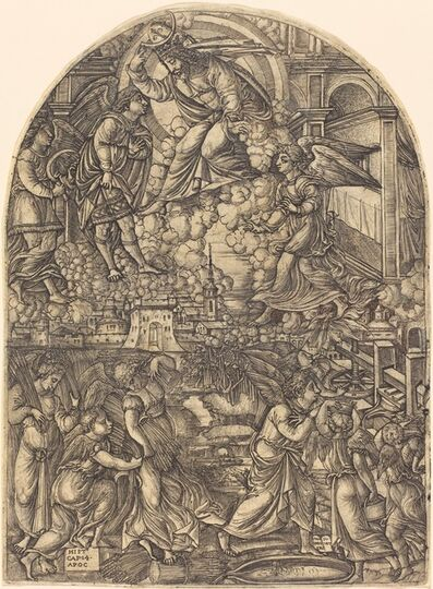 Jean Duvet, 'The Winepress of the Wrath of God', 1546/1556