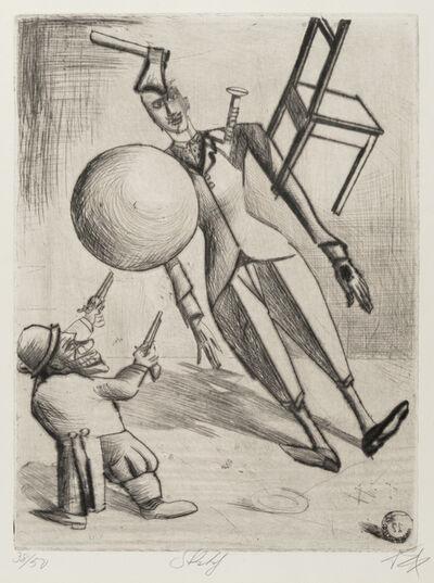 Otto Dix, 'Skit', 1922