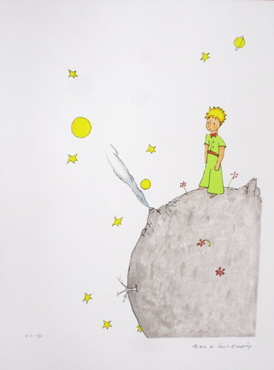 Antoine de Saint-Exupéry, 'The Little Prince on his Asteroid B 612', 2008