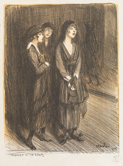 Théophile Alexandre Steinlen, 'A Group of Fourty-eight Works'
