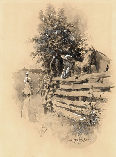 Alice Barber Stephens, 'Country Scene', 1900