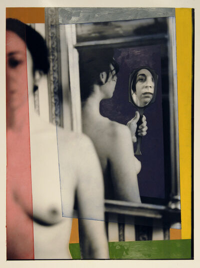 George Woodman, 'Shanti in the mirror', 2006