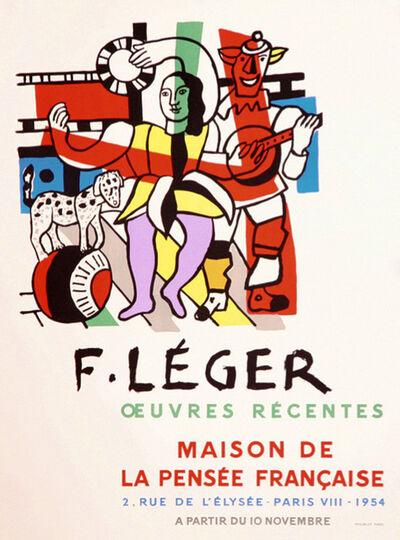 Fernand Léger, 'Maison de la Pensée Francaise', 1954