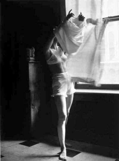 Lillian Bassman, 'Next to Nothing..., New York, Junior Bazaar', 1948