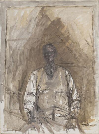 Alberto Giacometti, 'Portrait of G. David Thompson', 1957
