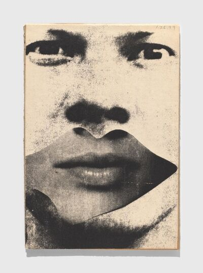 Ray Johnson, 'Untitled (Self-portrait with Lips)', 1994