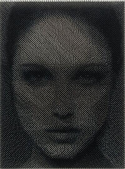 Maxim Wakultschik, 'Optical Portrait Wood #13 ', 2016