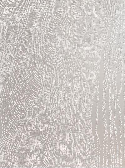 Mio Yamato, 'SILVER WHITE DOT', 2019