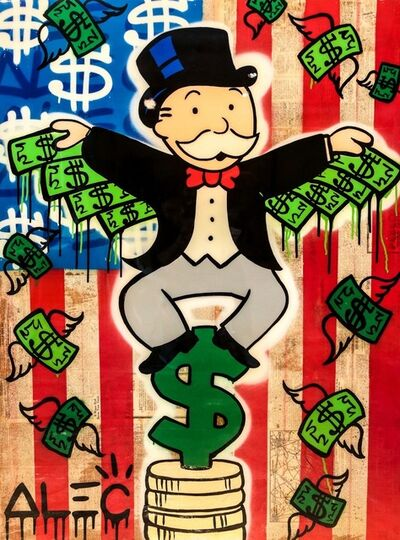 Alec Monopoly, 'American Money Wing$', 2017