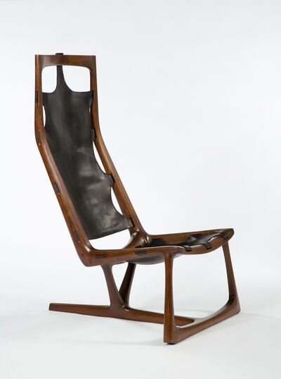 "Wendell Castle, 'Early ""Kangaroo"" Chair', 1962"
