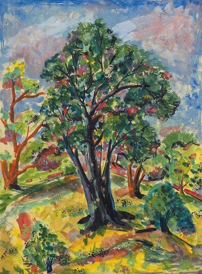 Francis Newton Souza, 'Untitled (Trees)', 1948