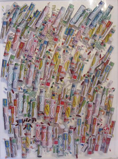 Arman, 'Drugs Tubes & Capsules', 1993