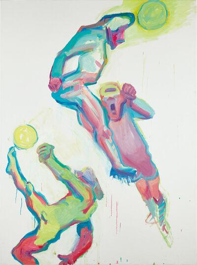Maria Lassnig, 'Competition III', 2000