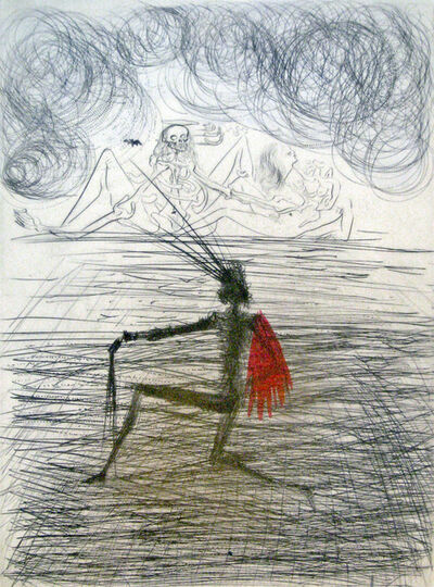 Salvador Dalí, 'Kneeling Knight', 1969