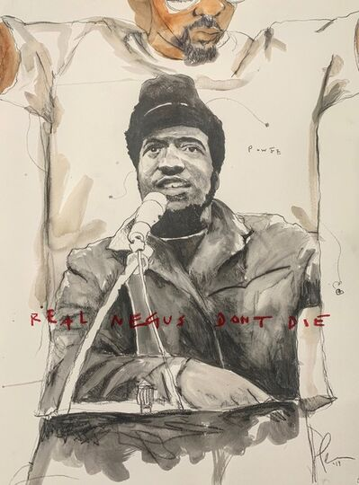 Fahamu Pecou, 'REAL NEGUS DON'T DIE: All Power (Fred Hampton)', 2019