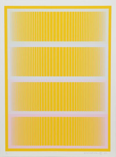 Richard Anuszkiewicz, 'Sequential II', 1972