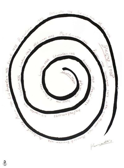 Jannis Kounellis, 'Never Ending Spiral', 2008