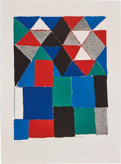 Sonia Delaunay, 'Écossais (Scottish)', circa 1970