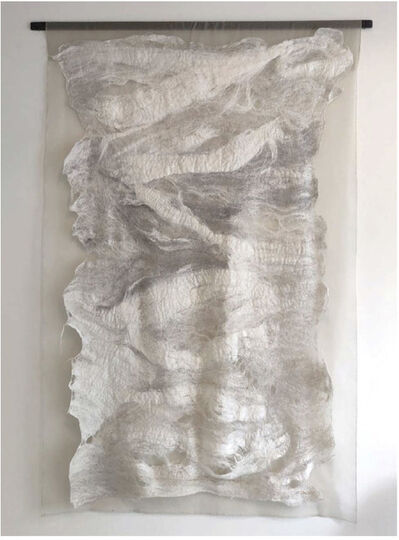Claudy Jongstra, 'Abstract White', 2020
