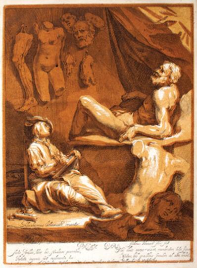 Abraham Bloemaert, 'Artis Apellae Liber [Tekenboek van Abraham Bloemaart] / The Drawing Book of Abraham Bloemaert', Amsterdam: Nicholaes Visscher, 1679, 1702.