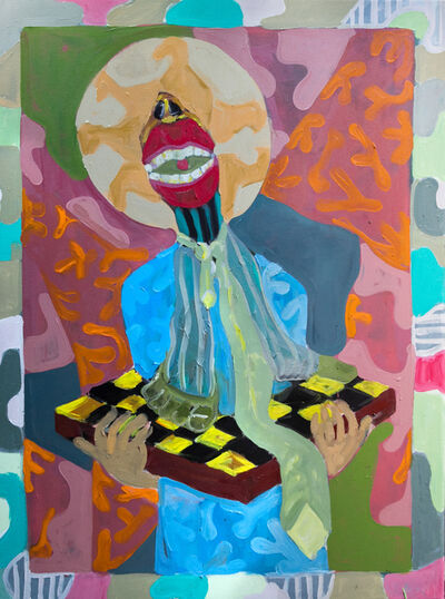 Gresham Tapiwa Nyaude, 'Saint Pragmatist', 2018