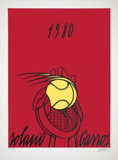 Valerio Adami, 'Roland Garros (Red)', 1980