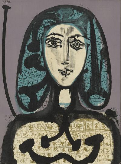 Pablo Picasso, 'La Femme à la Résille (Femme aux Cheveux verts)', 1949