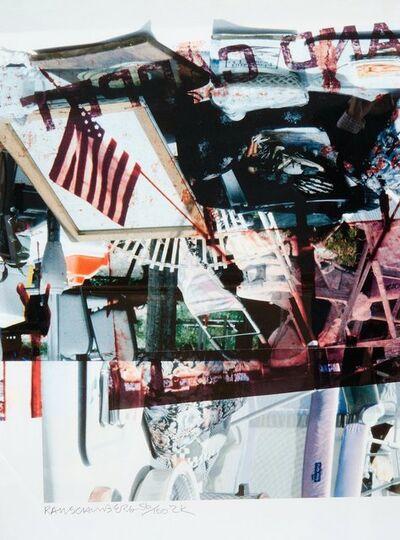 Robert Rauschenberg, '2K', 2000