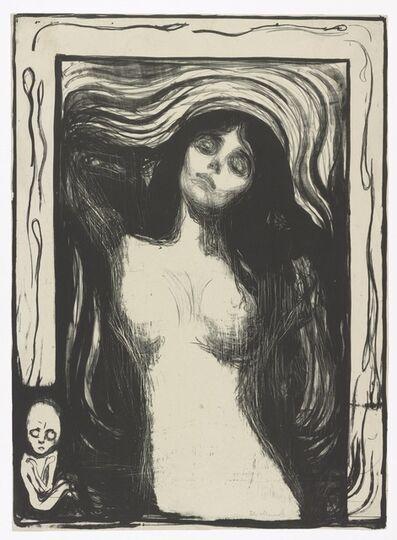 Edvard Munch, 'Madonna', 1895