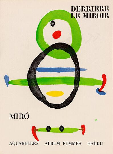 Joan Miró, 'Derrière le Miroir - Joan Miró: Aquarelles, Album Femmes, Haï-Ku, No. 207', 1967