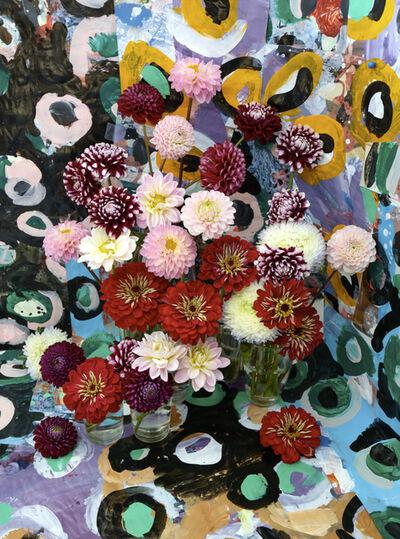 Christopher Beane, 'August Zinnias Color Study I (Baroquecoco Series)', 2019