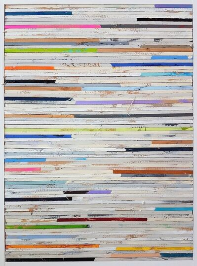Tim Hahn, 'Lathe Painting #8', 2018