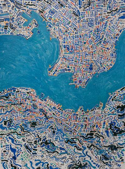 Barbara Macfarlane, 'Hong Kong, Blue, Red, Yellow, Green', 2019